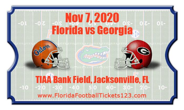Florida Gators vs Georgia Bulldogs Football Tickets | 10/31/20
